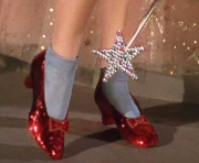 REAL RUBY RED SLIPPERS