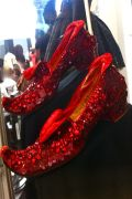 ORIGINAL, NEVER USED, RUBY RED SLIPPERS