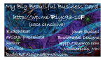 BUDDHAKAT'S BIG BEAUTIFUL BUSINESS CARD